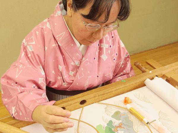 私と日本刺繍の出会い1
