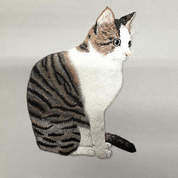 ペット刺繍