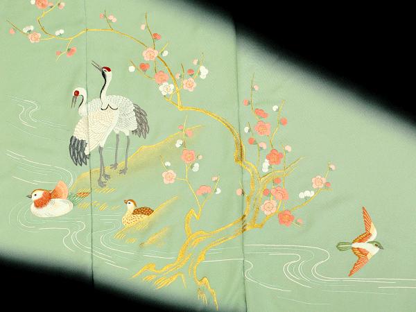 昨今の日本刺繍1